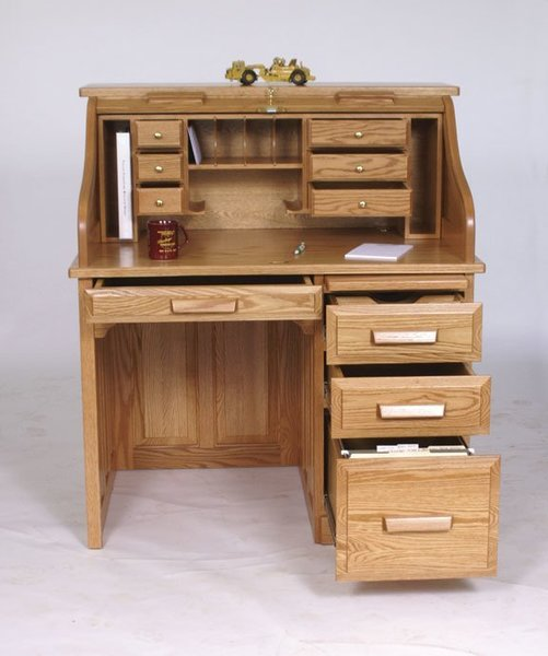 "Amish 42"" Standard Roll Top Desk"