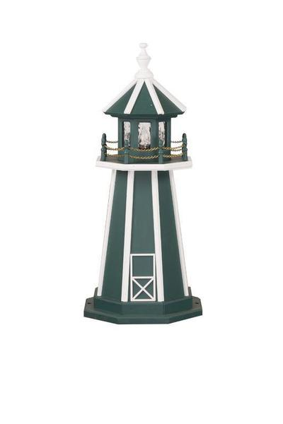 Amish-Made Poly Garden Lighthouse