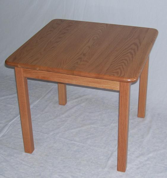 "Amish Kids' 24"" Square Activity Table"