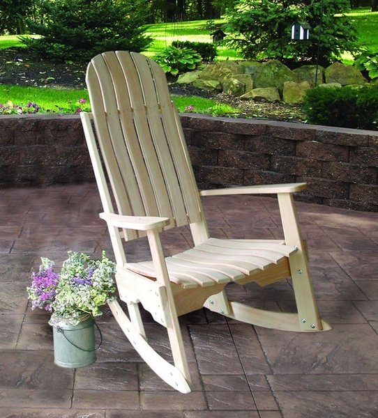 Amish Cypress Outdoor Porch Rocker