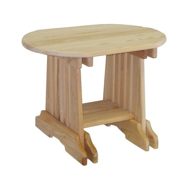 Amish Cypress Outdoor End Table