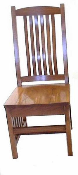 Amish Crescent Mission Dining Room Chair