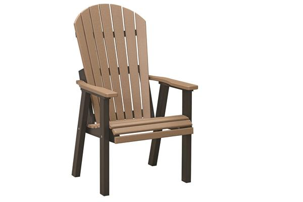Berlin Gardens Comfo-Back Poly Patio Deck Chair