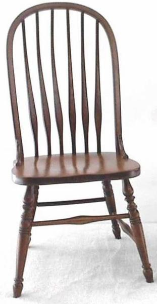 Amish Ohio Deluxe Bent Feather Windsor Chair