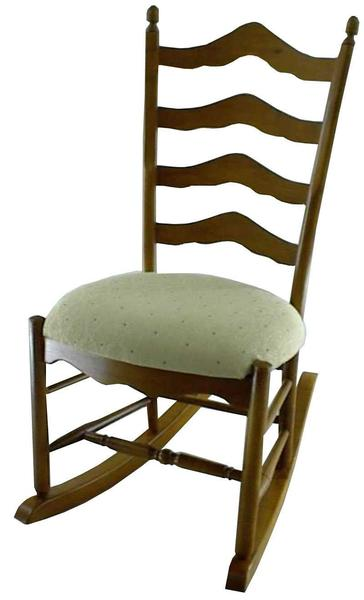 Amish Ladderback Shaker Rocker