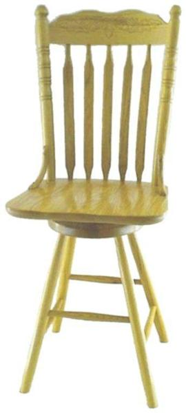 Amish Bent Cat Tail Barstool