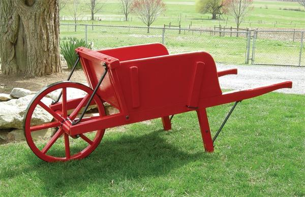 Amish Old Fashioned Wheelbarrow - Medium Premium
