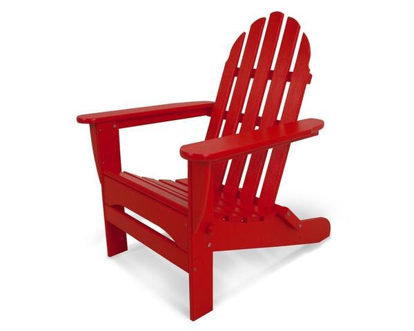 POLYWOOD® Classic Folding Adirondack Chair
