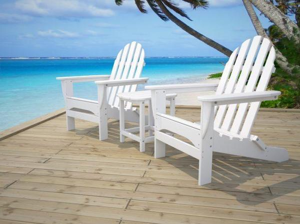 Poly Adirondack Outdoor Chairs