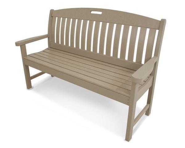 "POLYWOOD® Nautical 60"" Porch Bench"