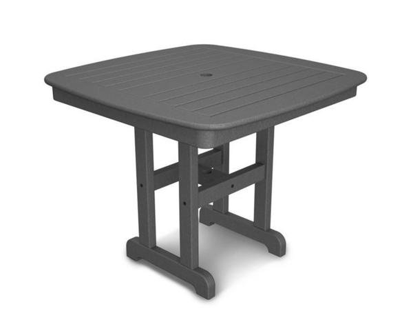 "POLYWOOD® Nautical 37"" Square Dining Table"