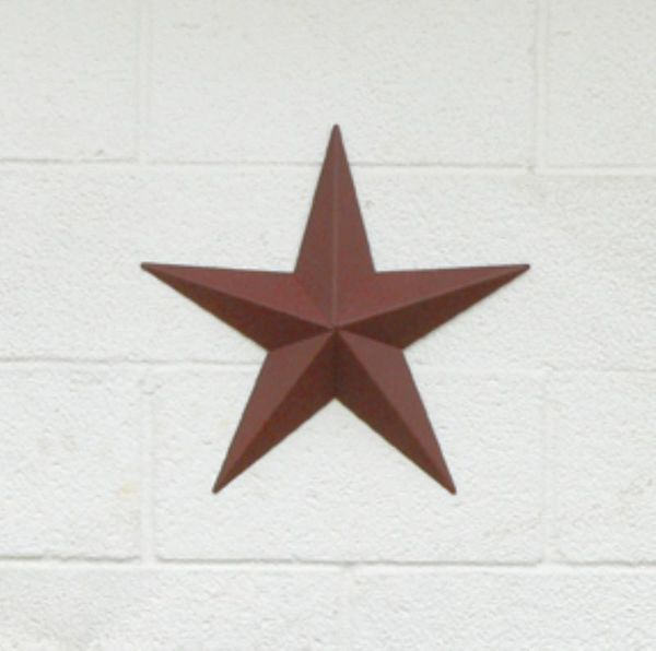 "Amish 11"" Small Metal Barn Star"