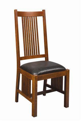 Amish Woodland Mission Chair