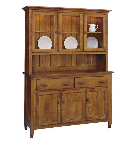 Canterbury Buffet and Hutch by Keystone Collection