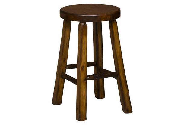Amish Shaved Barstool