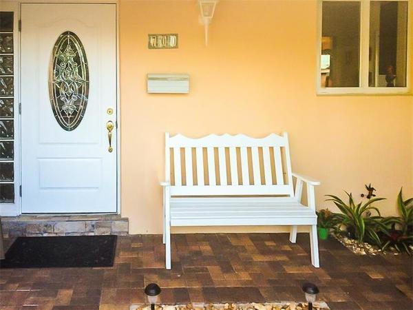 Amish Pine Wood Royal English Garden Bench