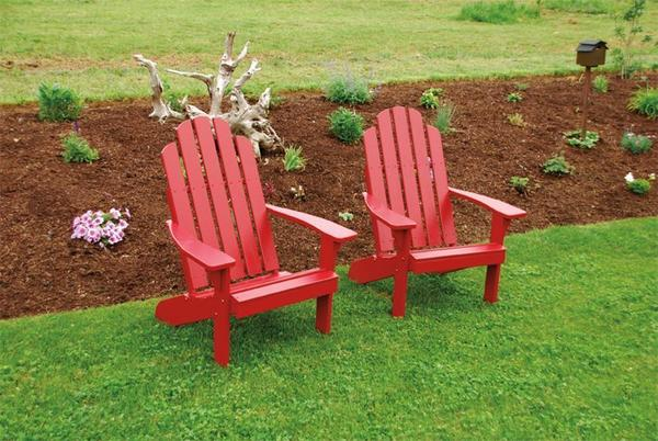 Amish Pine Wood Kennebunkport Adirondack Chair