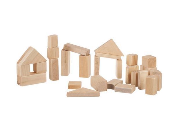 Amish Made Wooden Building Blocks