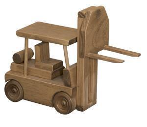 Amish Wooden Toy Forklift