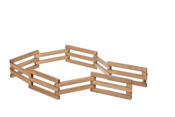Amish Wooden Toy Folding Fence