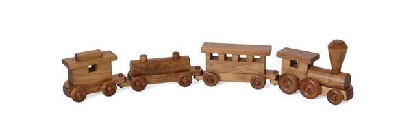 Amish Wooden Old Fashion Toy Train