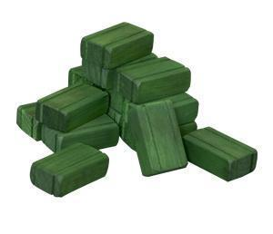 American Made Wooden Toy Hay Bales
