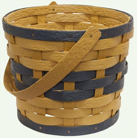 Amish Eco Friendly One Handle Planter Basket
