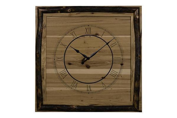 """Amish 30"""" x 30"""" Square Wall Clock"""