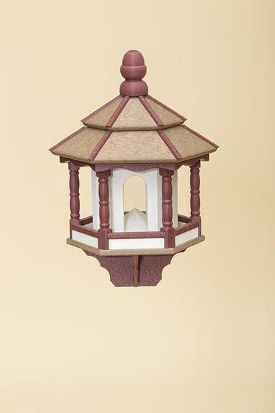 Small Amish Poly Hexagon Bird Feeder