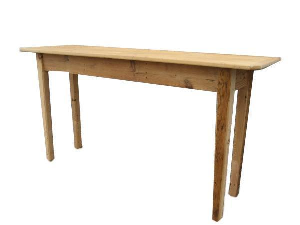 Amish Barn Wood Console Table