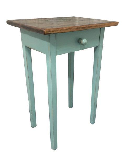 Amish End Table with Drawer