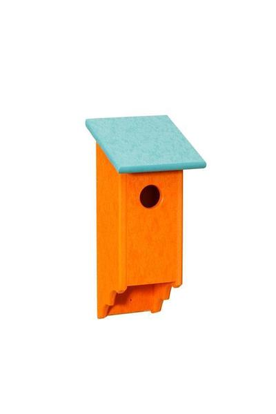 Amish Fence Mounted Poly Bluebird House
