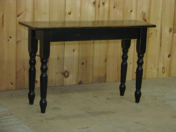 Amish English Console Table