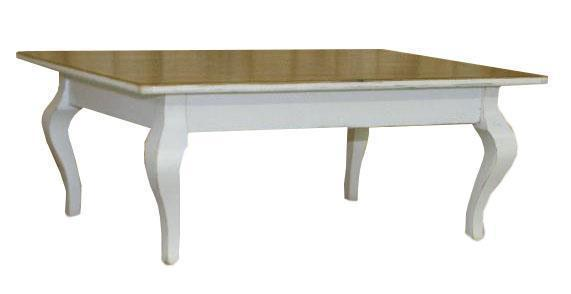 Amish Cabriole Standard Coffee Table