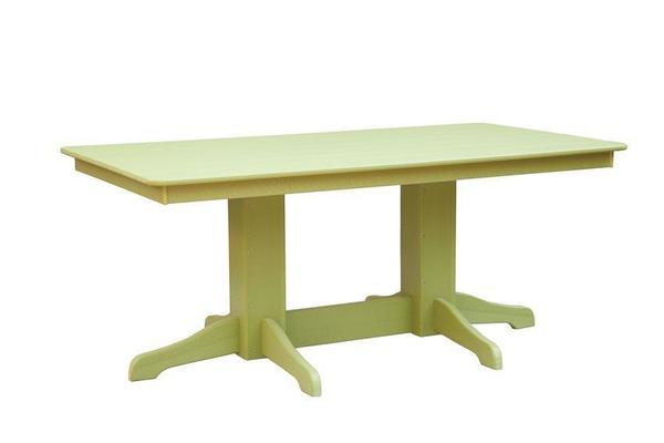 Rectangle Patio Poly Dining Table