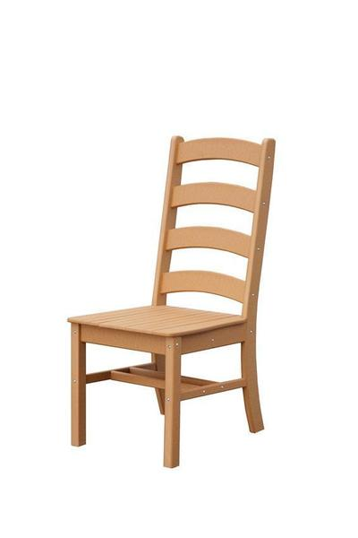 Amish Poly Patio Ladderback Side Chair