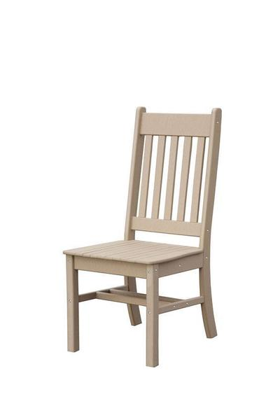 Conestoga Poly Side Outdoor Dining Chair