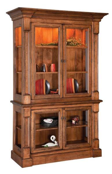 Amish Marshfield China Display Cabinet