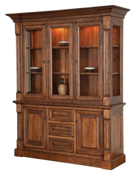 Amish Marshfield China Cabinet