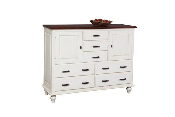 Amish Nantucket 7-Drawer Server