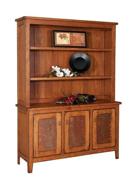Amish Wilmington Farmhouse Hutch