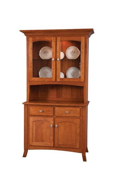 Amish Concord Two Door Dining Hutch
