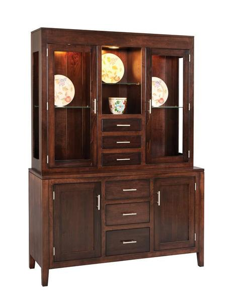 Amish Tuscany Dining Hutch and Buffet