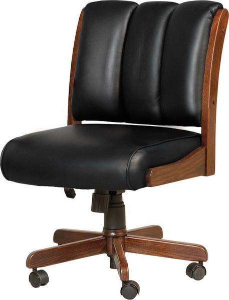 Amish Midland Desk Chair with Gas Lift