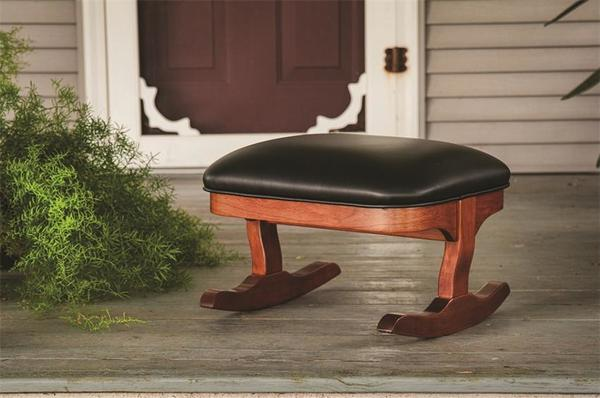 Rocking Footstool From Dutchcrafters Amish Furniture
