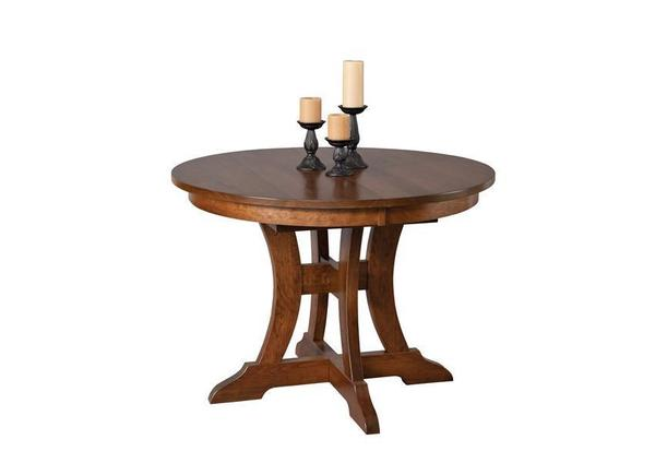 Amish Douglas Solid Wood Dining Table