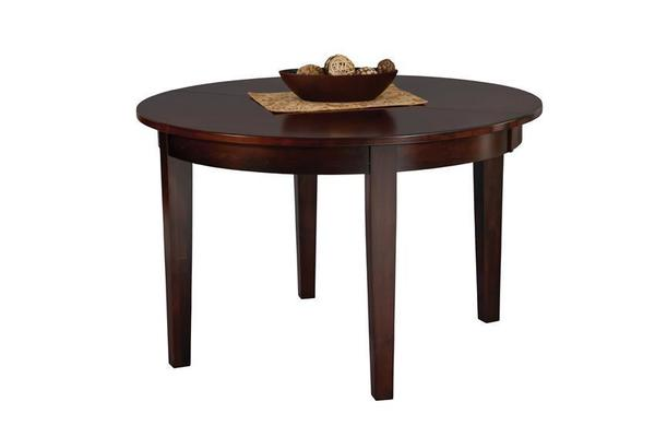 Amish Warner Contemporary Dining Room Table