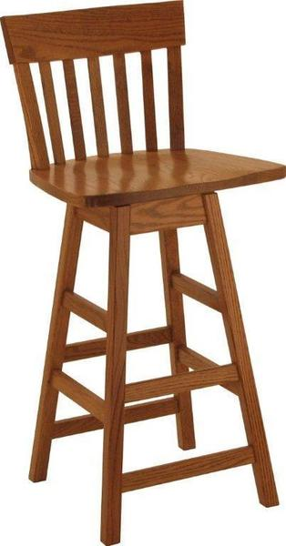 Amish San Marino Bar Stool with Swivel