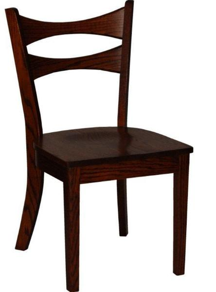 Amish Scandinavian Dining Room Chair
