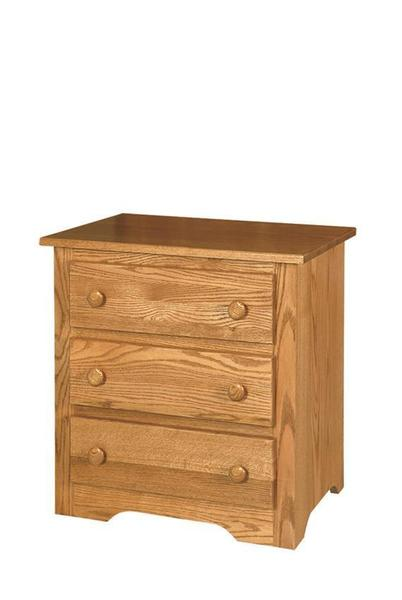 Amish English Shaker Nightstand